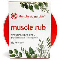 The Physic Garden Muscle Rub - 50gm - Muscle Rub - Throw Some Seeds - Australian gardening gifts and eco products online!