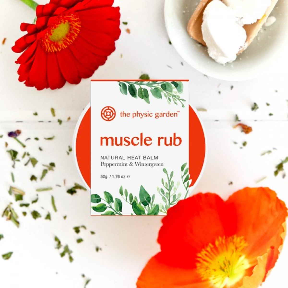 The Physic Garden Muscle Rub - 50gm
