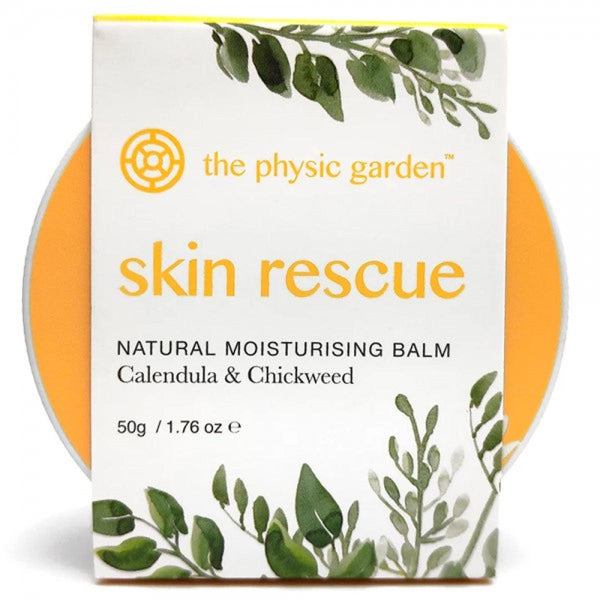 The Physic Garden Skin Rescue - 50gm - Skin Rescue - Throw Some Seeds - Australian gardening gifts and eco products online!