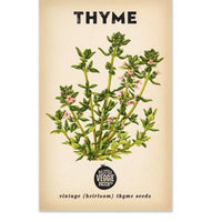 Thyme (Summer) Heirloom Seeds - Seeds - Throw Some Seeds - Australian gardening gifts and eco products online!