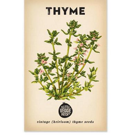 Thyme (Summer) Heirloom Seeds | Throw Some Seeds - Australian gardening gifts and eco products online!
