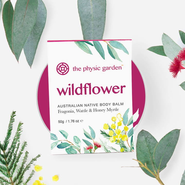 The Physic Garden Wildflower Body Balm - 50gm