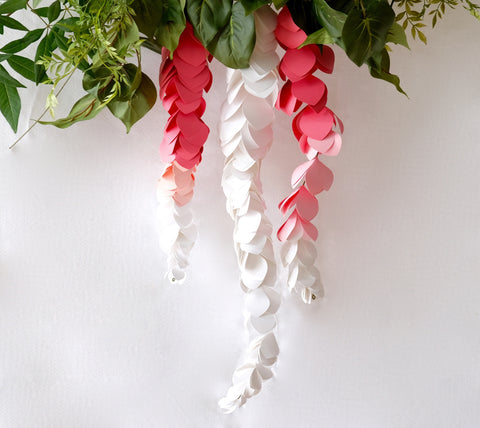 Hanging Wisteria Paper Flowers