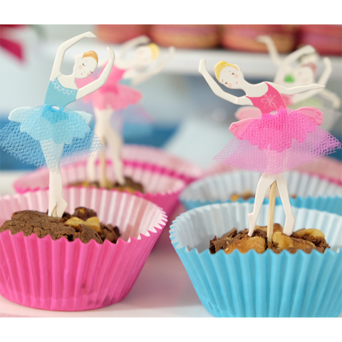 Dancers Cupcake Toppers -