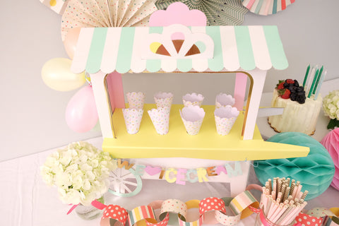 Ice Cream Cart Centerpiece -  - 1