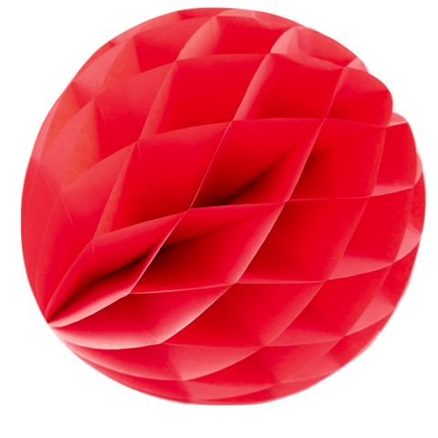 Red Honeycomb Ball -