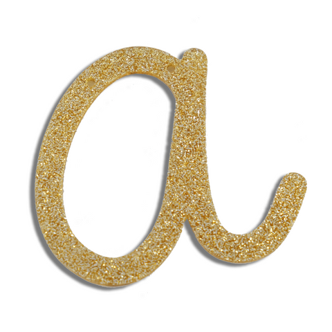 Gold Letter - A -