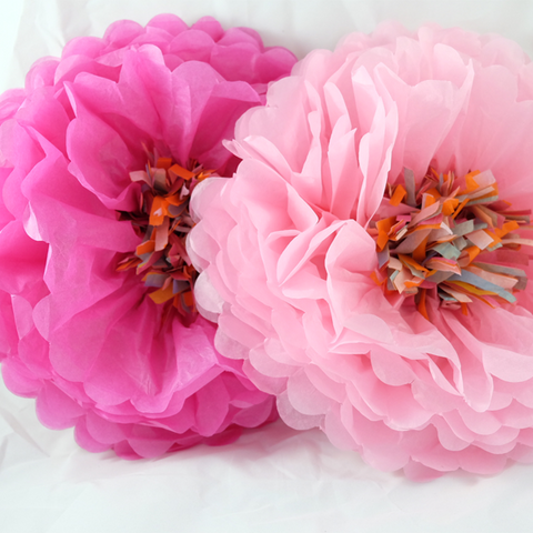 Tissue Paper Flowers -