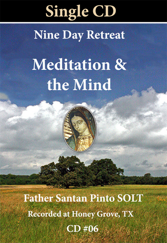 #06 Meditation and the Mind Single CD