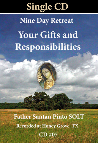 #07 Gifts and Responsibilities Single CD
