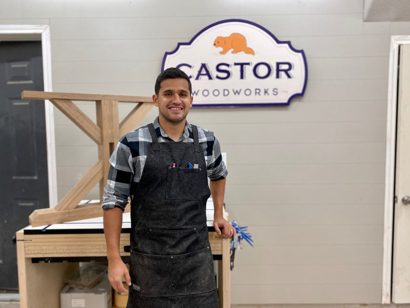 Meet the Maker: Juan Lozano of Castor Woodworks