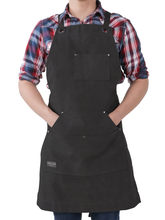Hudson Durable Goods Regular Canvas Work Apron with Tool Pockets - HDG921