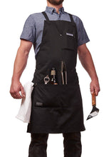 Hudson Durable Goods BBQ & Grill Apron Holds Beer and Tongs