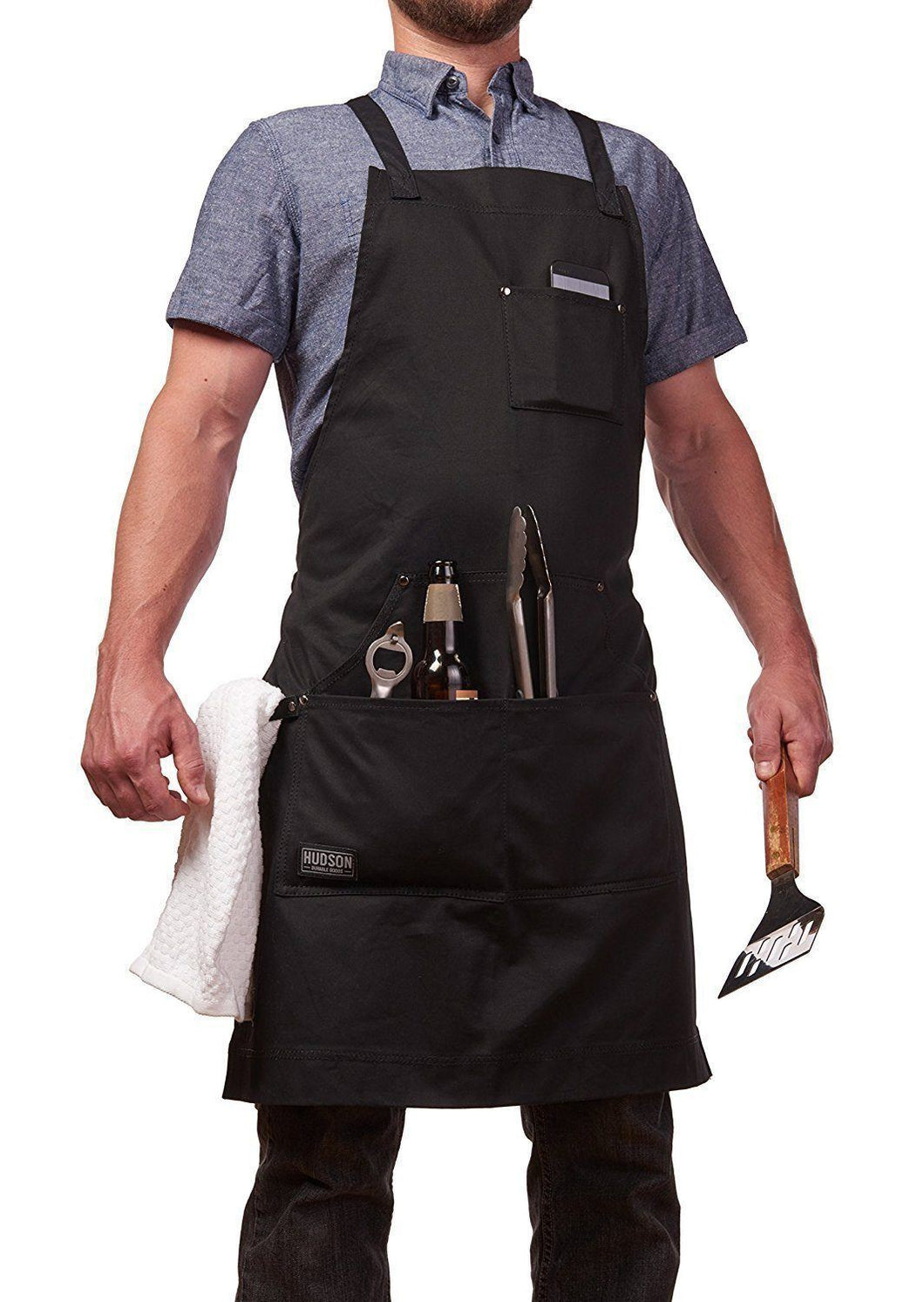 HDG805 - Professional Grade BBQ Apron for Kitchen, Grill, and BBQ ...