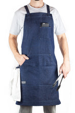 Hudson Durable Goods HDG805 Denim Apron with Towel Loop