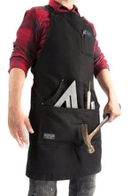 Hudson Durable Goods Home Improvement HDG901 - Heavy Duty 16 oz Waxed Canvas Shop Apron (Black)