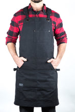 Hudson Durable Goods Home Improvement HDG901D- Heavy Duty 16 oz Waxed Canvas Tool Apron - DELUXE EDITION