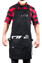 Hudson Durable Goods HDG901D- Heavy Duty 16 oz Waxed Canvas Tool Apron - DELUXE EDITION for woodworking woodshop blacksmith metalmsmith tools gifts and accessories