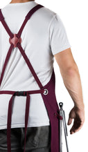 Hudson Durable Goods Home Professional Grade Apron for Kitchen, Grill, and BBQ (Burgundy) - HDG805R