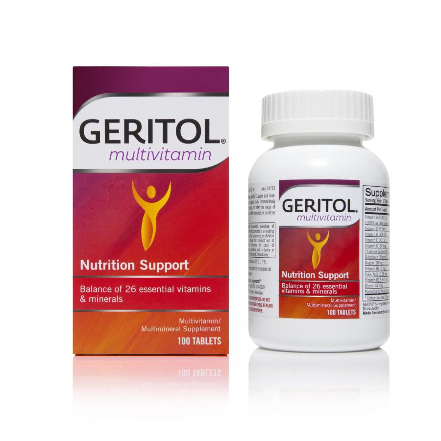 Geritol (Multivitamins with Iron)