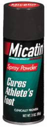Micatin (Miconazole) powder spray