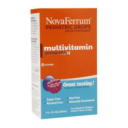 Multivitamins with Iron drops
