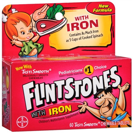 Multivitamins with Iron (Flintstones with Iron)