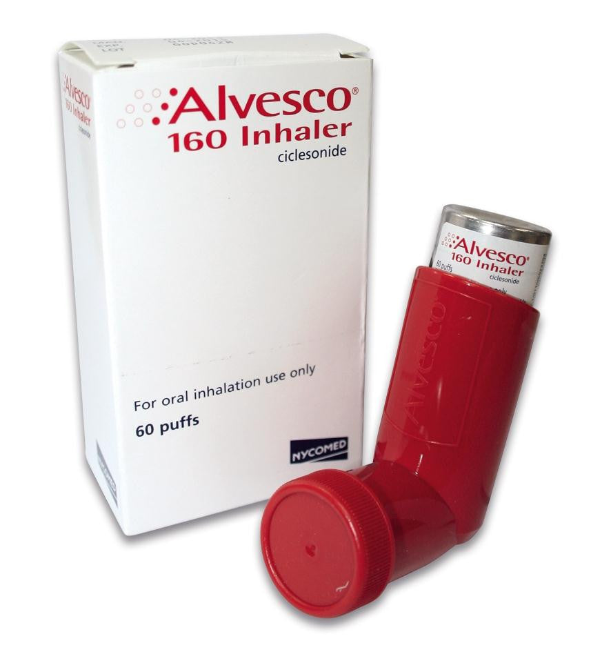 Alvesco Inhalation Aerosol - Patient Pharmacy