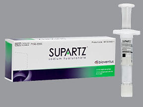 Supartz (hyaluronate sodium) 10 mg/2.5 mL