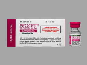 Procrit (Epoetin alfa) - Patient Pharmacy