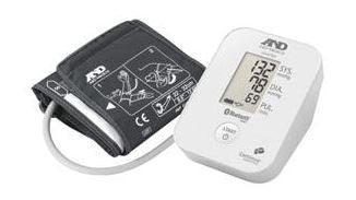 A&D Medical Upper Arm Blood Pressure Monitor with Bluetooth® Smart Technology - Patient Pharmacy