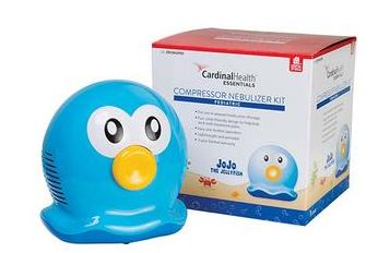 Cardinal Health Essentials™ JoJo the Jellyfish Pediatric Compressor Nebulizer, Piston-Style