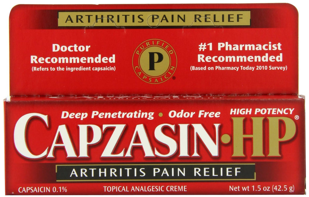 Capzasin generic - Patient Pharmacy