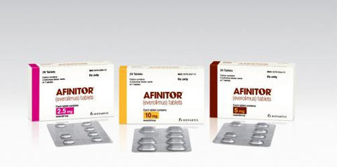 Afinitor (everolimus) Tablet - Patient Pharmacy