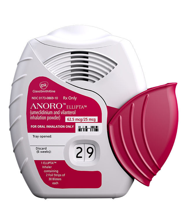 Anoro Ellipta Inhalation Power - Patient Pharmacy