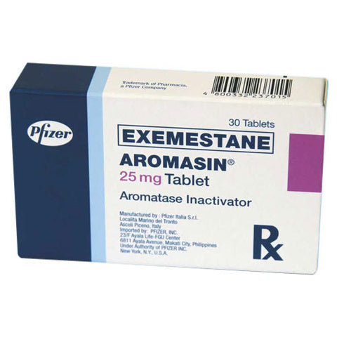 Aromasin 25mg Tablet - Patient Pharmacy