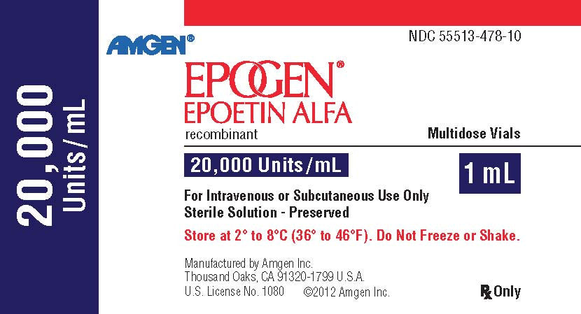 Epogen (Epoetin alpha) Multidose Vial - Patient Pharmacy