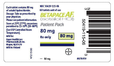 Sotalol HCL - Patient Pharmacy