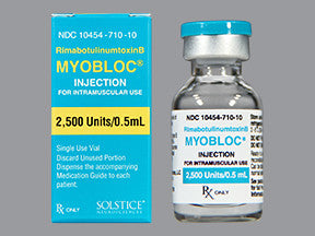Myobloc (botulinum toxins) - Patient Pharmacy
