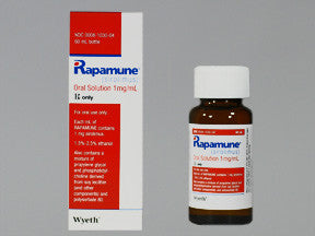 RAPAMUNE SOLUTION