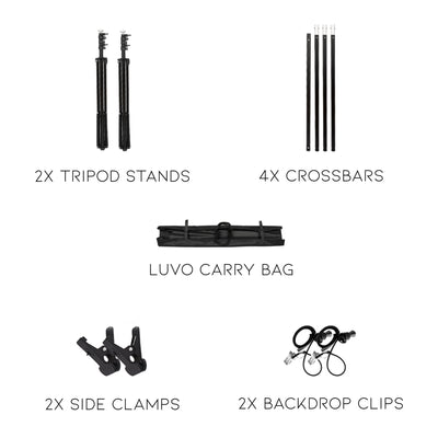 Background Stand Kit LUVO STORE