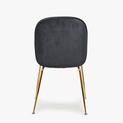 Grey Velvet Chair | Luvo Store