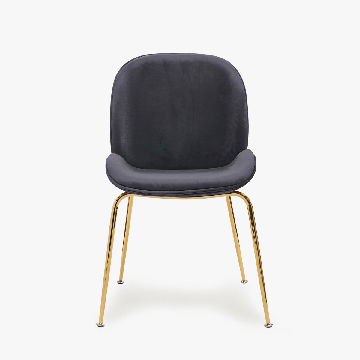 Grey Velvet Chair Luvo Store