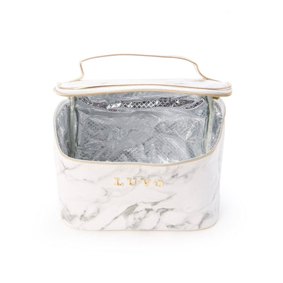 Marble Cosmetic Carrier | Luvo Store