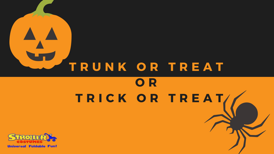 Trunk or treat vs. Trick or Treat