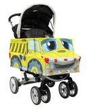 Yellow Dump Truck Stroller Costume Accessory
