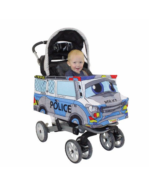 Stroller Costumes Police Car Stroller Cover Accessory - Police car