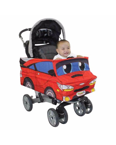 Red Race Car Stroller Costume
