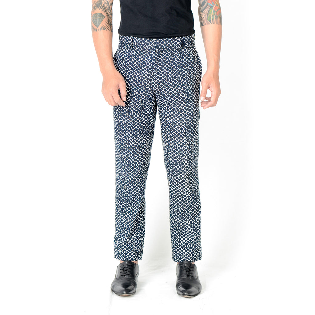Men Tattoo Long Pants: Gringsing