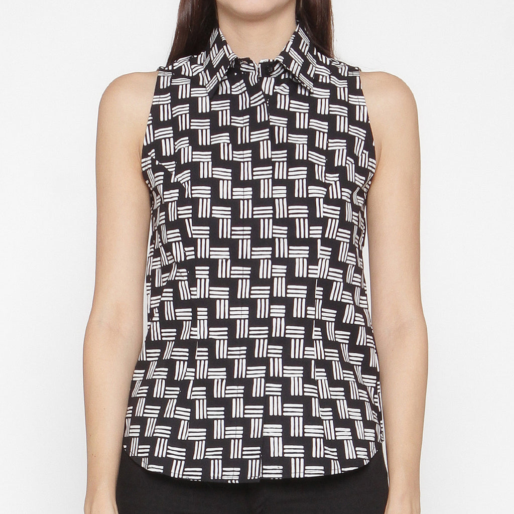 Women Sleeveless Shirt : Gedek